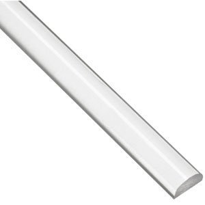 Half Round Rod Clear 183 Min Plastics Amp Supply Inc